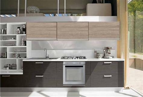 libreria grigia cucina linea moderna new beige e grigio essential con