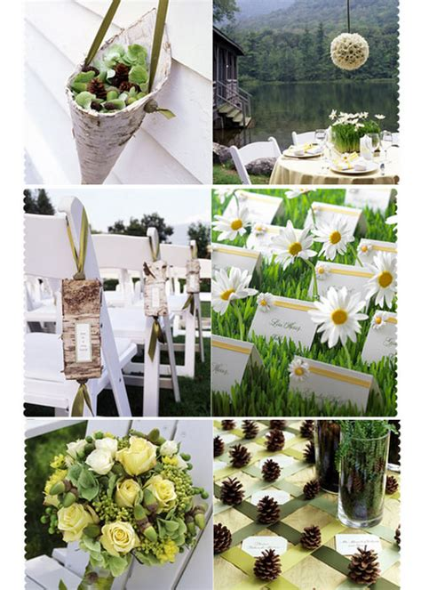 Garden Wedding Decorations Ideas Outdoor Wedding Ceremony Planning Ideas