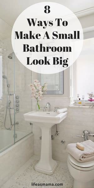 how to make a small bathroom work 8 ways to make a small bathroom look big tiny bathrooms
