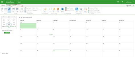 Add Sharepoint Calendar To Outlook Connect A Sharepoint Calendar With Outlook Lydon