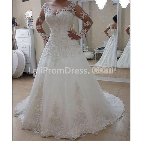 long wedding dresses    long sleeves