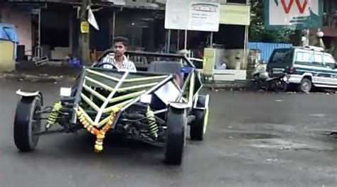 indian made cars indian made ariel atom look alike meet its 19 year old
