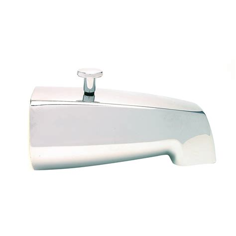bathtub faucet with diverter for shower bathtub diverter spout plumb shop