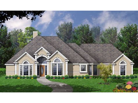 stucco house plans macoupin stucco sunbelt home plan 030d 0081 house plans
