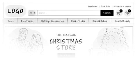 dropped header design guide ecommerce web design guide home pages and category pages