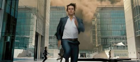 film tom cruise mission impossible how much time has tom cruise spent running in movies