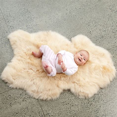 baby sheepskin rug pin by on baby