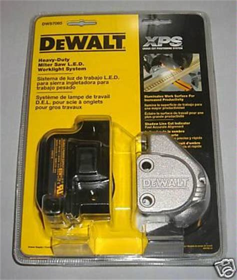 Pujasuka Dewalt Mitre Saw Led Work Light System Dws7085