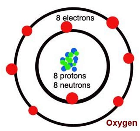 oxygen protons neutrons electrons human biology lab lab one oxygen