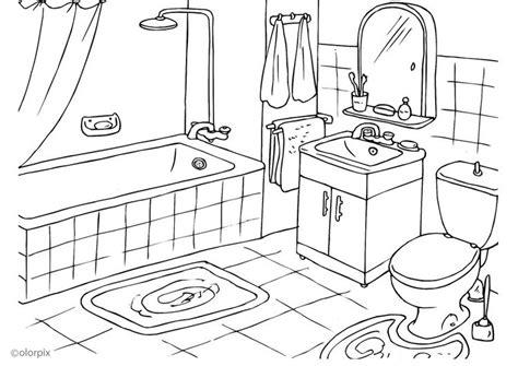 imagenes para pintar tu cuarto dibujo para colorear cuarto de ba 241 o img 25994
