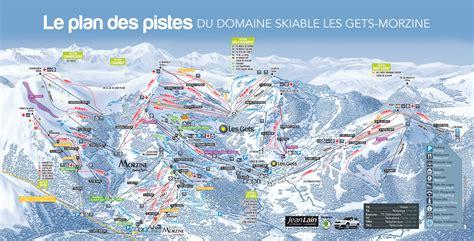 portes du soleil plan ski map