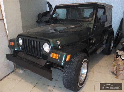 Jeep Wrangler Price In Pakistan Jeep Wrangler 2002 For Sale In Karachi Pakwheels
