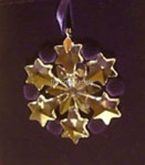 swarovski swarovski 2004 christmas ornament little