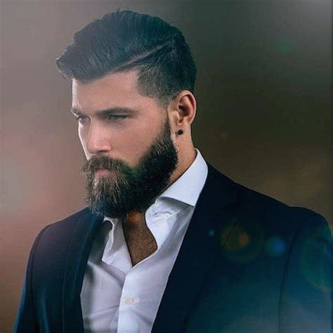 men s look with a long beard for my groom pinterest 10 men s hairstyles that ll look good with a full beard