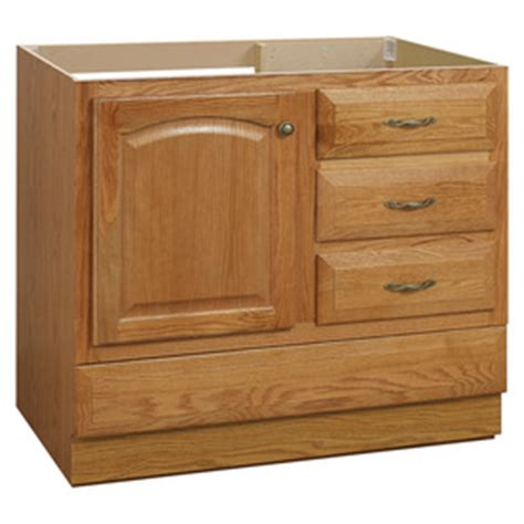 project source 36 in oak traditional bathroom vanity