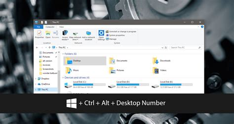 different wallpaper for each virtual desktop windows 10 move the current window to a virtual desktop with a hotkey