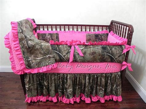 Camo Baby Bedding Set Mary Elizabeth Girl Baby Bedding Camouflage Crib Bedding Set