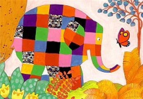 elmer and butterfly postkarten von david mckee schreib mal wieder karten de