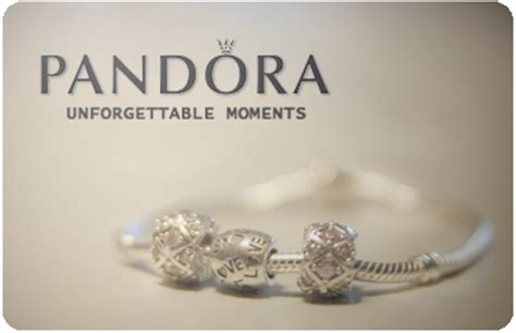 Pandora Music Gift Card - where can i get a pandora jewelry gift card transfert discount