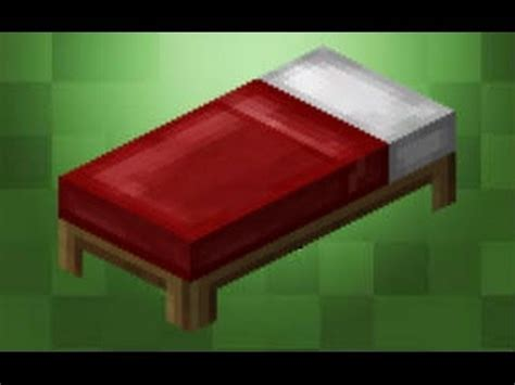 Minecraft Bed by Minecraft Basics Bed Minecraft Project