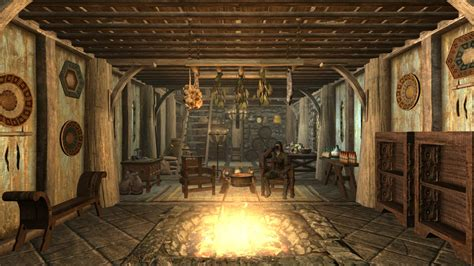 View Interior Of Homes breezehome redecored at skyrim nexus mods and community