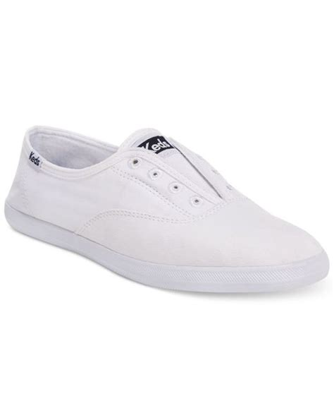 s laceless sneakers keds s chillax laceless sneakers in white lyst