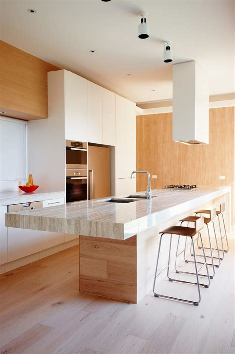 light and fresh modern kitchen design decoist a dashing dark silhouette for posh residence in melbourne