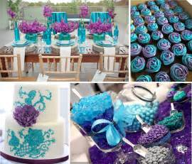 teal blue decorations best ideas for purple and teal wedding lianggeyuan123
