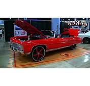 RED 71 Impala Donk Vert On 26 Forgiatos L92 421 Stroker