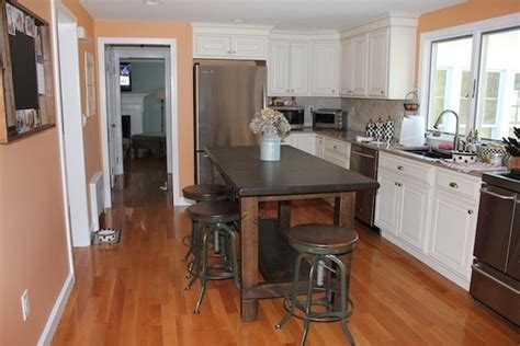 kitchen island farm table farm table style custom kitchen island for the home