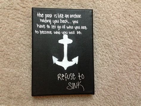 Anchor Print Inspirational Print Quot - anchor canvas with inspirational quote