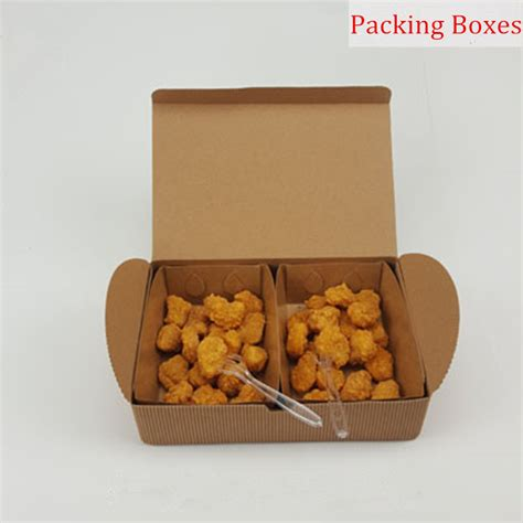 Food Pail Ukl Paper Box Rice Box Paper aliexpress buy chicken wings chicken rice flower