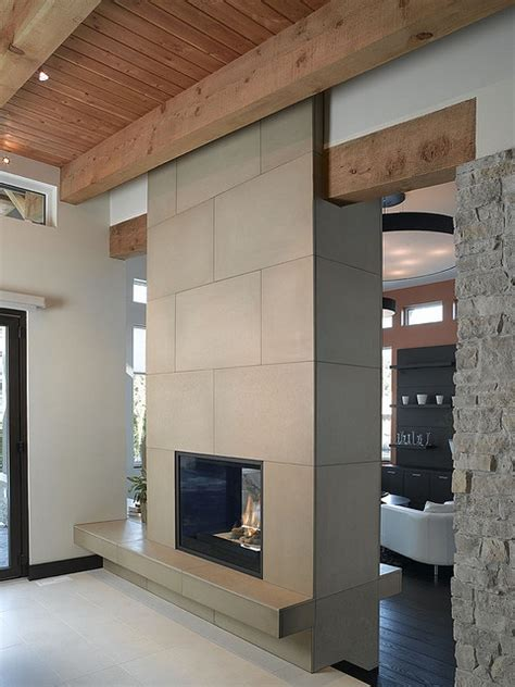 cast concrete 24x36 floor tile in shiitake photo by raef solus cast concrete tiled fireplace 24x36 in portobello