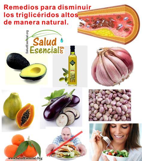 trigliceridos alimentos vive sana triglic 233 ridos elevados 191 hay tratamiento