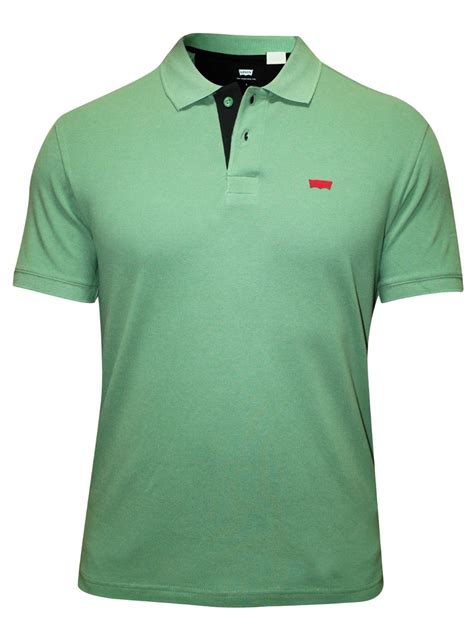 Polo Shirt Levis Solid buy t shirts levis green polo t shirt 17468