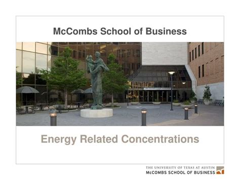 Mccombs Business School Mba by Ppt Mccombs School Of Business Powerpoint Presentation