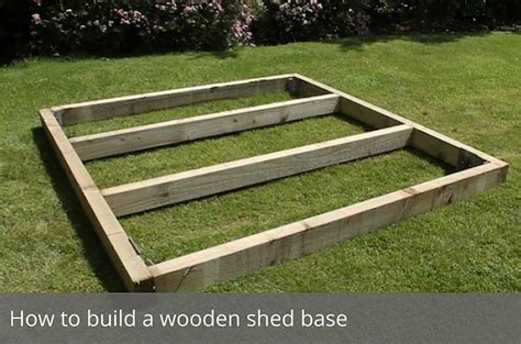 build  wooden shed base waltons blog waltons sheds