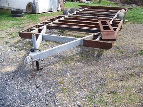 home built cer trailer plans yostyexplorer94 s cer frame trailer build ford
