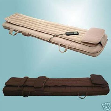 roller bed new electric accupressure portable massage roller bed ebay