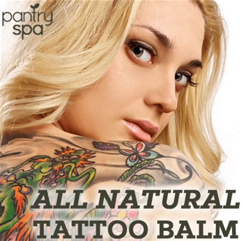 tattoo cream recipe homemade tattoo aftercare lotion balm recipes for fast
