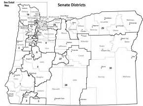 oregon blue book senate district maps