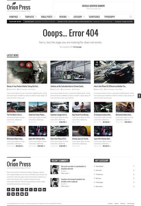Muhidin Retina Ready Magazine Template Support press retina and responsive magazine theme by wpgalaxy themeforest