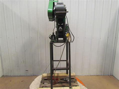 mechanical bench press benchmaster mechanical 4 ton punch press obi 1 quot stroke 3 1