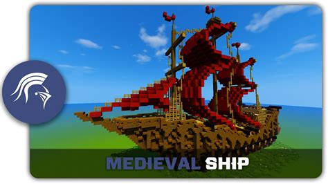 minecraft grian boat minecraft building tutorial how to build a medieval ship