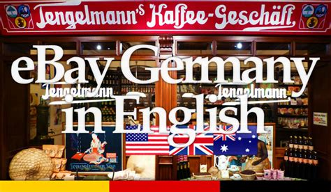 Ebay Germany In English | ebay de germany site version in english the easy guide