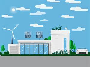 House Gif eco house animation by crisp motion dribbble