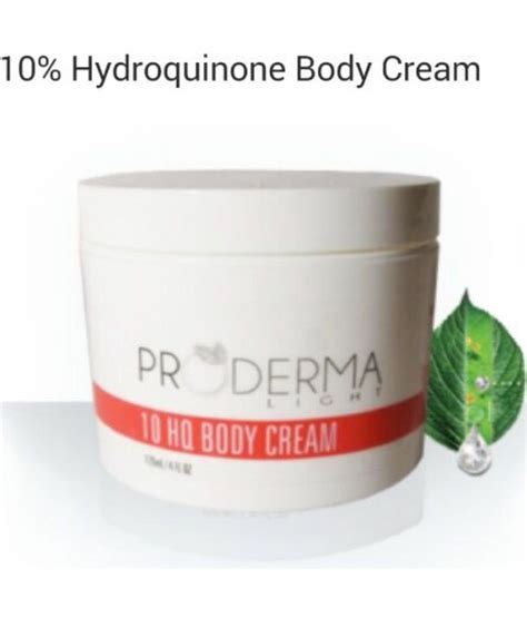 Prmaderma Whitening proderma light 10 strong skin lightening hydroquinone products and 10