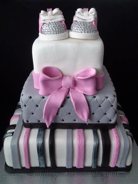 Girly Baby Shower Cakes by Pink Girly Baby Shower Cakecentral