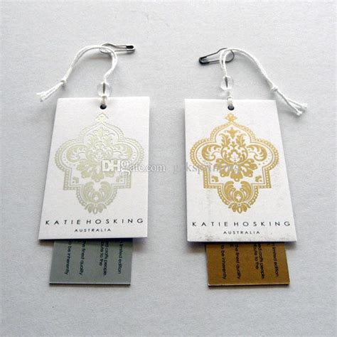 How To Price Handmade Clothing - custom clothing tags 2 cards hang tags printing high