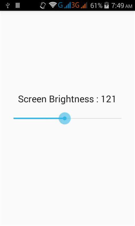 android set layout height in dp set change screen brightness in android programmatically